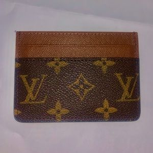 authentic louis vuitton 5 card holder